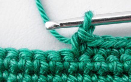 punto bajo crochet gráfico