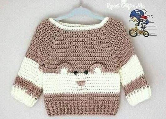 Un jersey para tu peque con mucho encanto