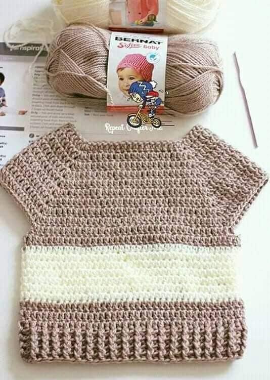 jersey ratoncito crochet