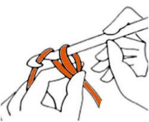 Aprendiendo crochet punto por punto - Cadeneta