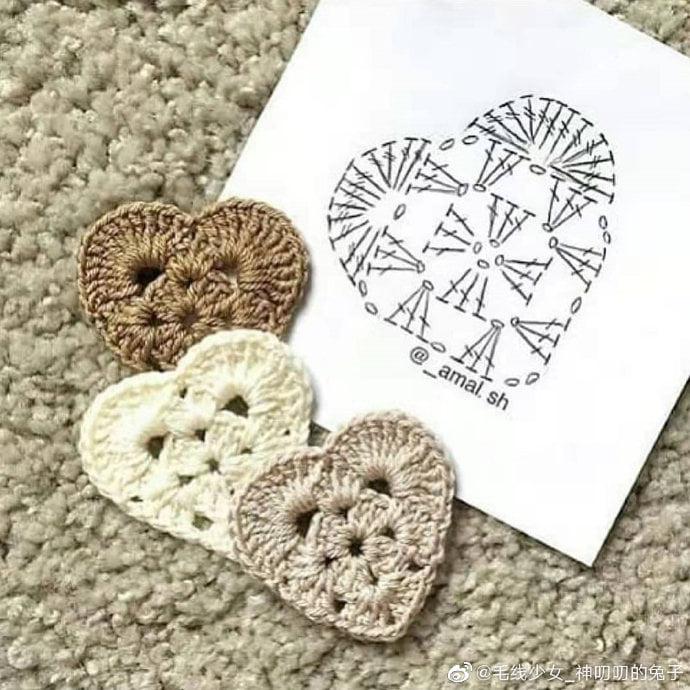 14 Lindos gráficos para tus labores en crochet