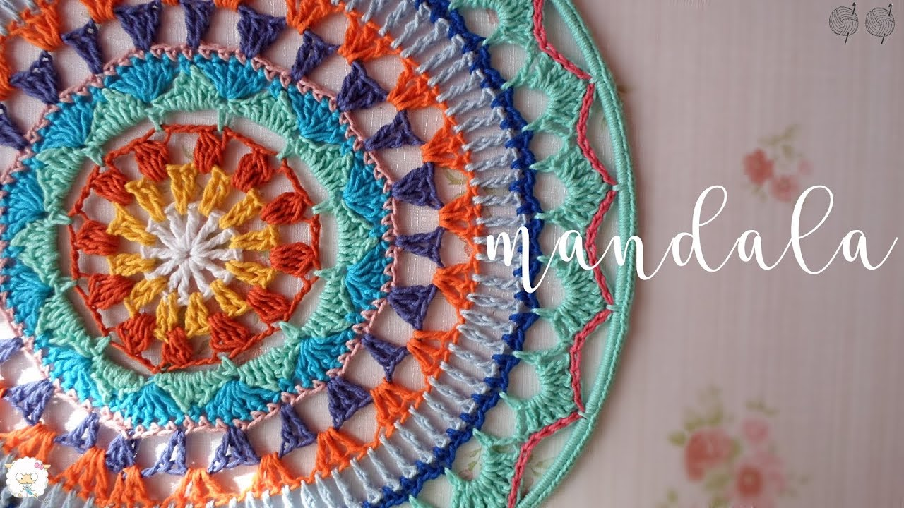 mandalas gráficos crochet