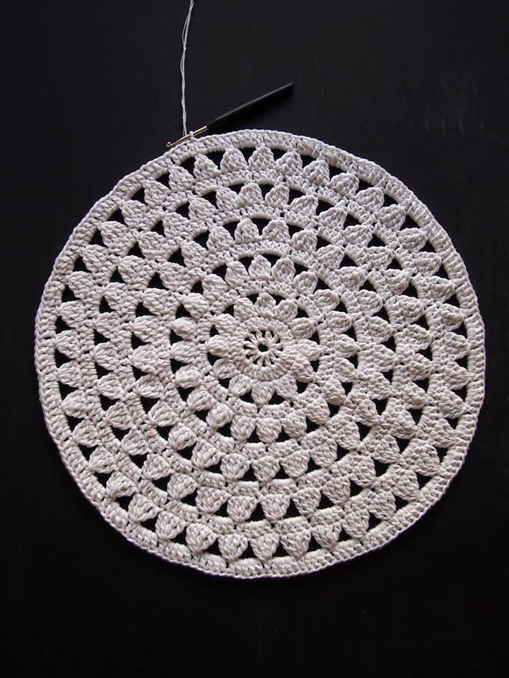 cojines banquitos crochet