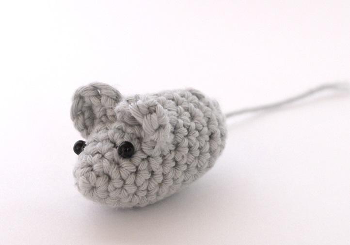 ratoncitos de ganchillo