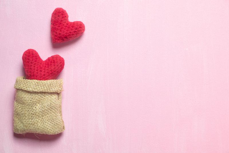 regalo enamorados crochet