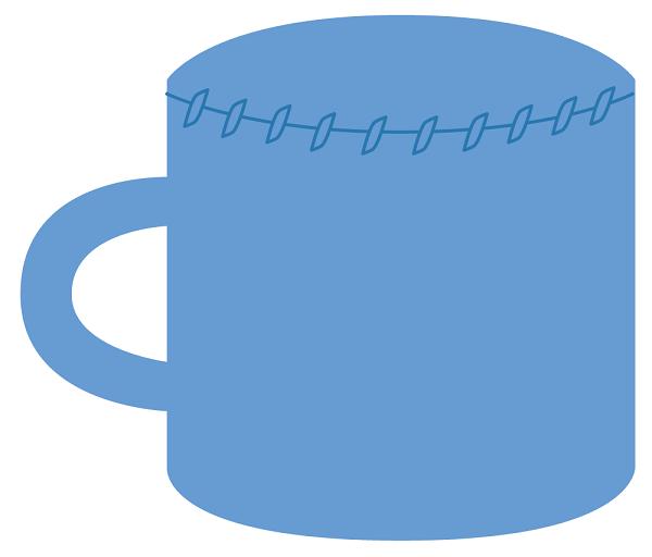 patron taza amigurumi