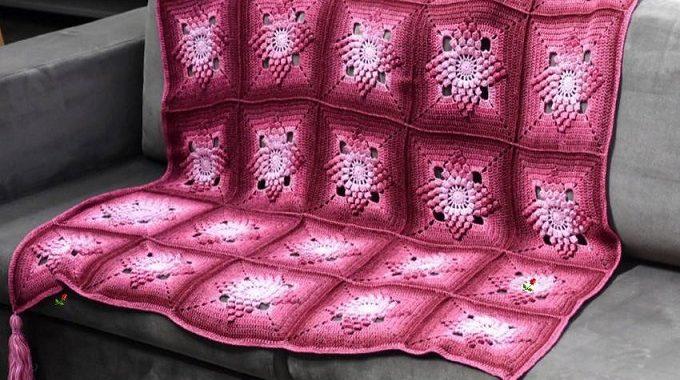 Una de las mantas más alucinantes del mundo en crochet