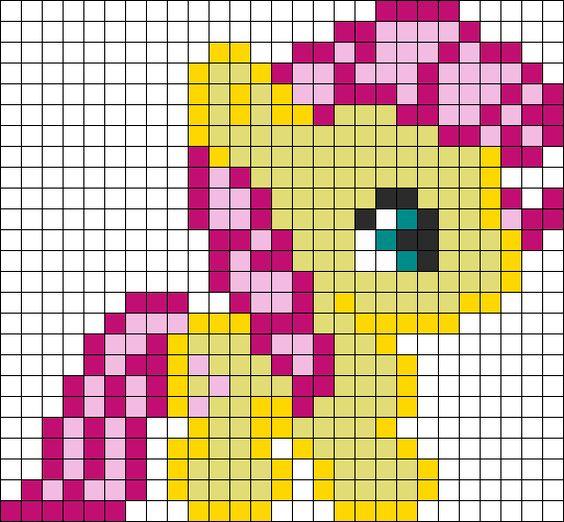 princesas mantas pixel ganchillo