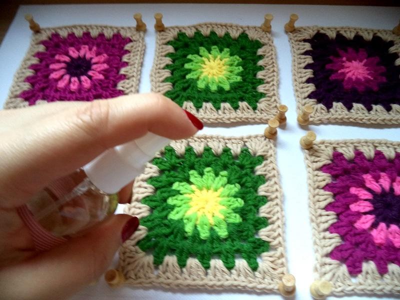 video tutorial coser grannys square